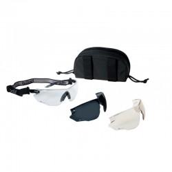 BOLLE COMBAT TACTICAL SPECTACLES - KIT BLACK (COMBKITN)