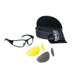 Bolle Rogue Tactical Spectacles Kit - Black (ROGKIT)