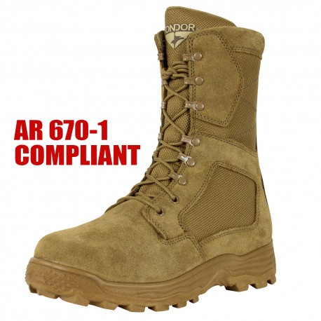 "Jackson 8"" AR670-1 Compliant Combat Boot"