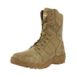 "Richards 9"" Side-Zip Tactical Boot - Coyote Brown"