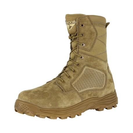 """Murphy 9"""" Side-Zip Tactical Boot - Coyote Brown"""